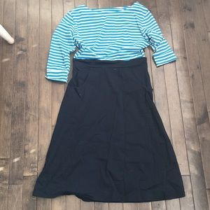 Nautical Shabby Apple Dress